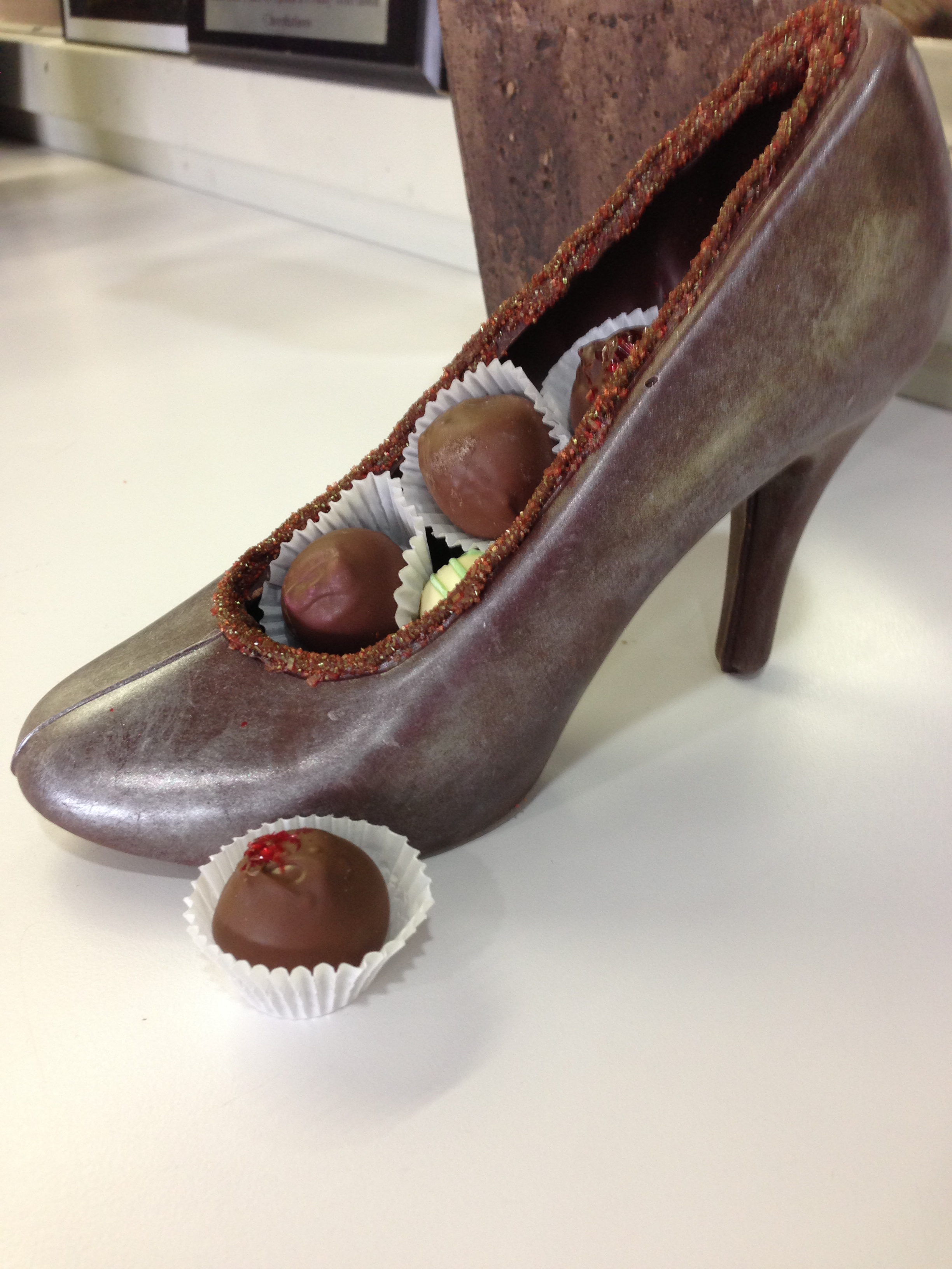 Women And Chocolate Shoes Chocolations