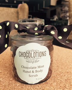 Chocolate Mint Hand & Body Scrub