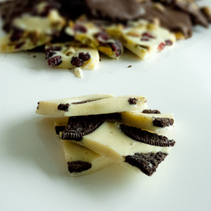 Chocolations - white chocolate Oreo bark
