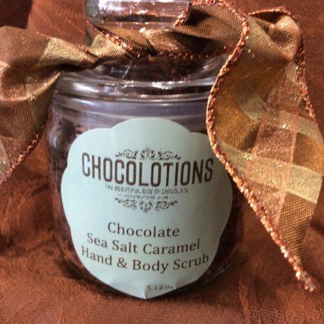 Chocolate Sea Salt Caramel Hand & Body Scrub