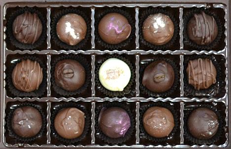 15 Truffles or Bon-Bons