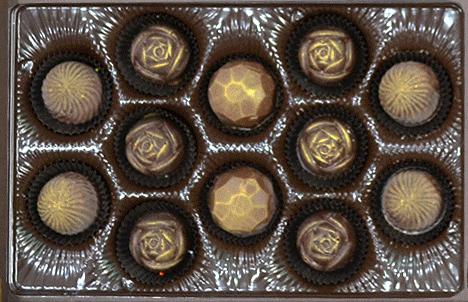 12 Truffles or Bon-Bons